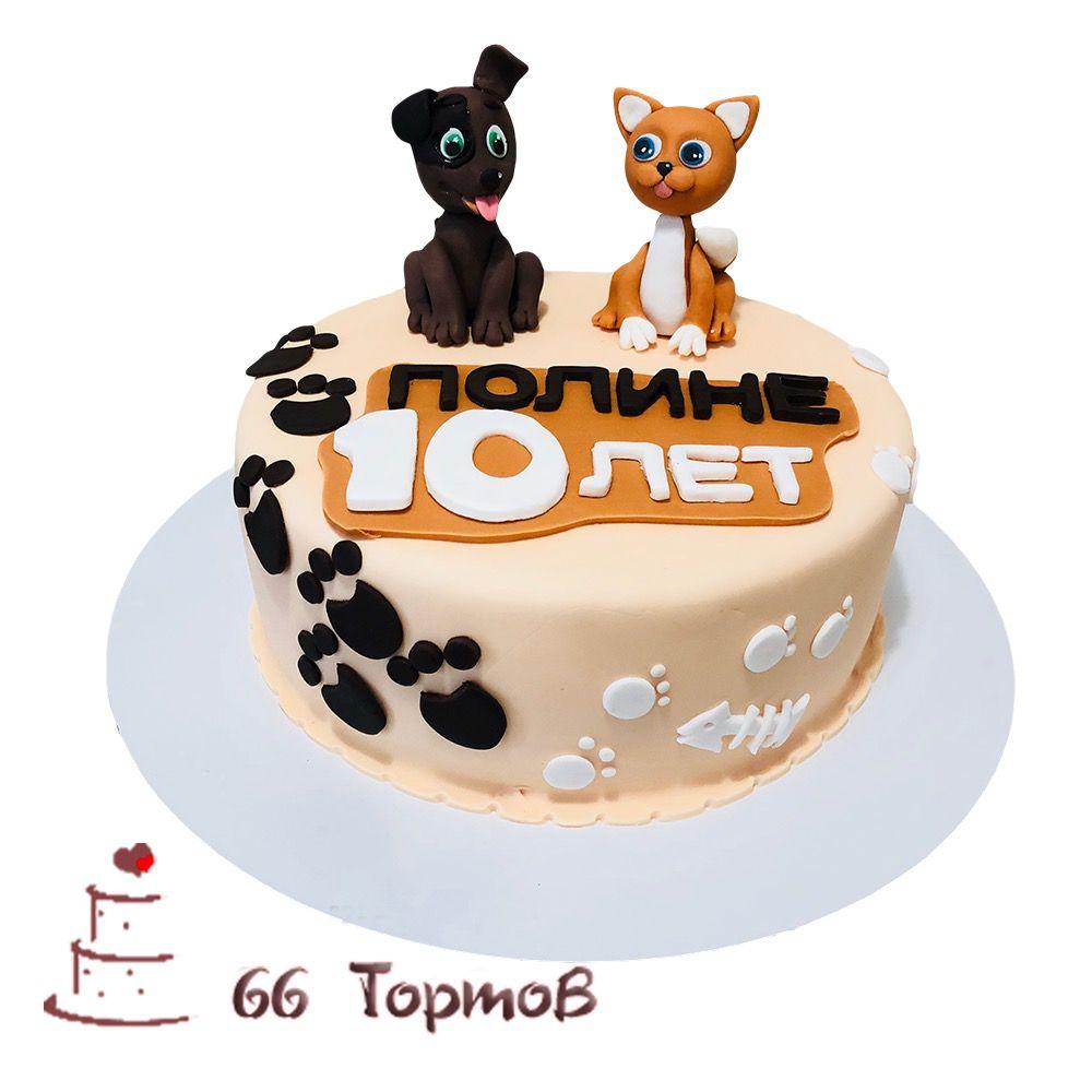 №181 Торт котенок гав