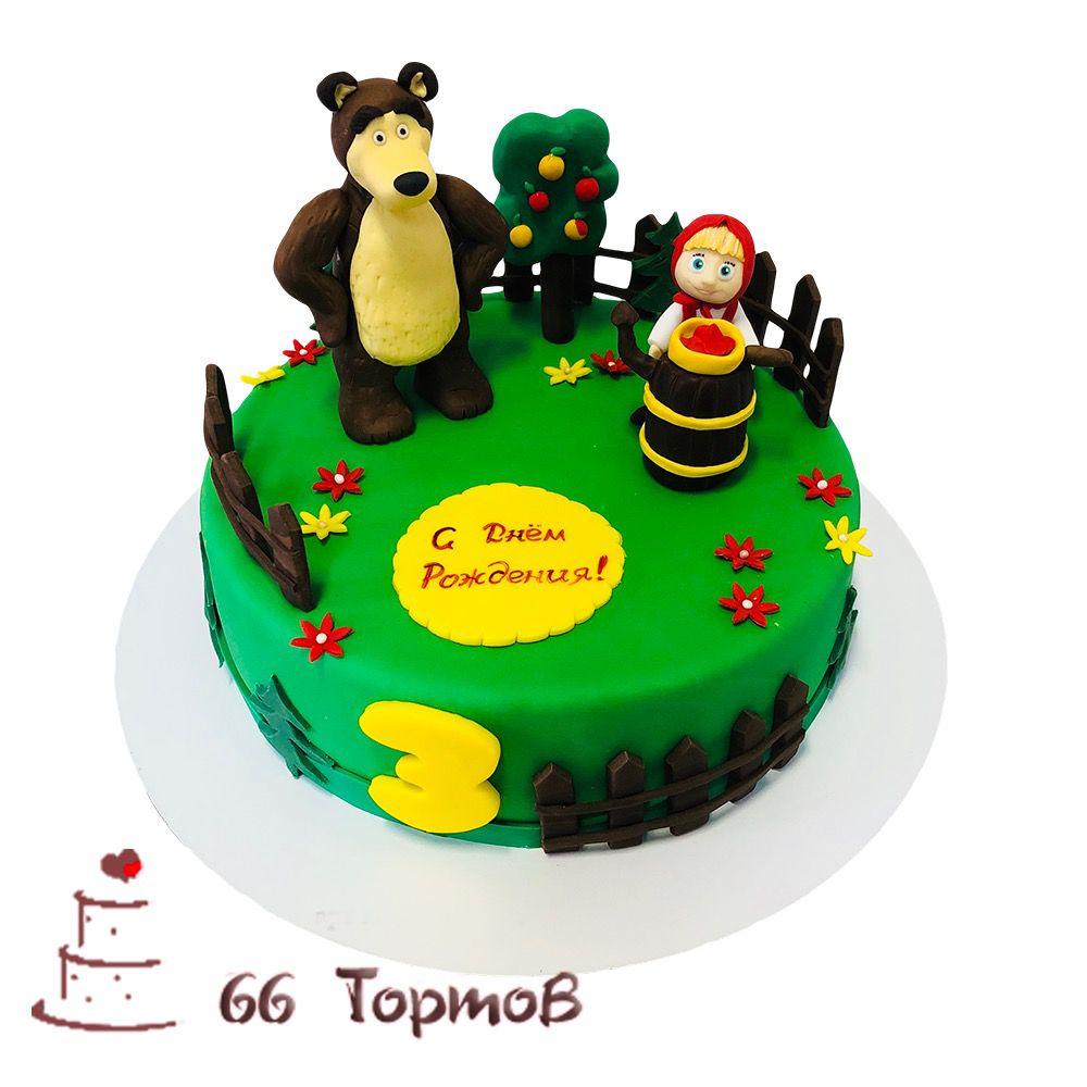 №185 Торт маша и медведь