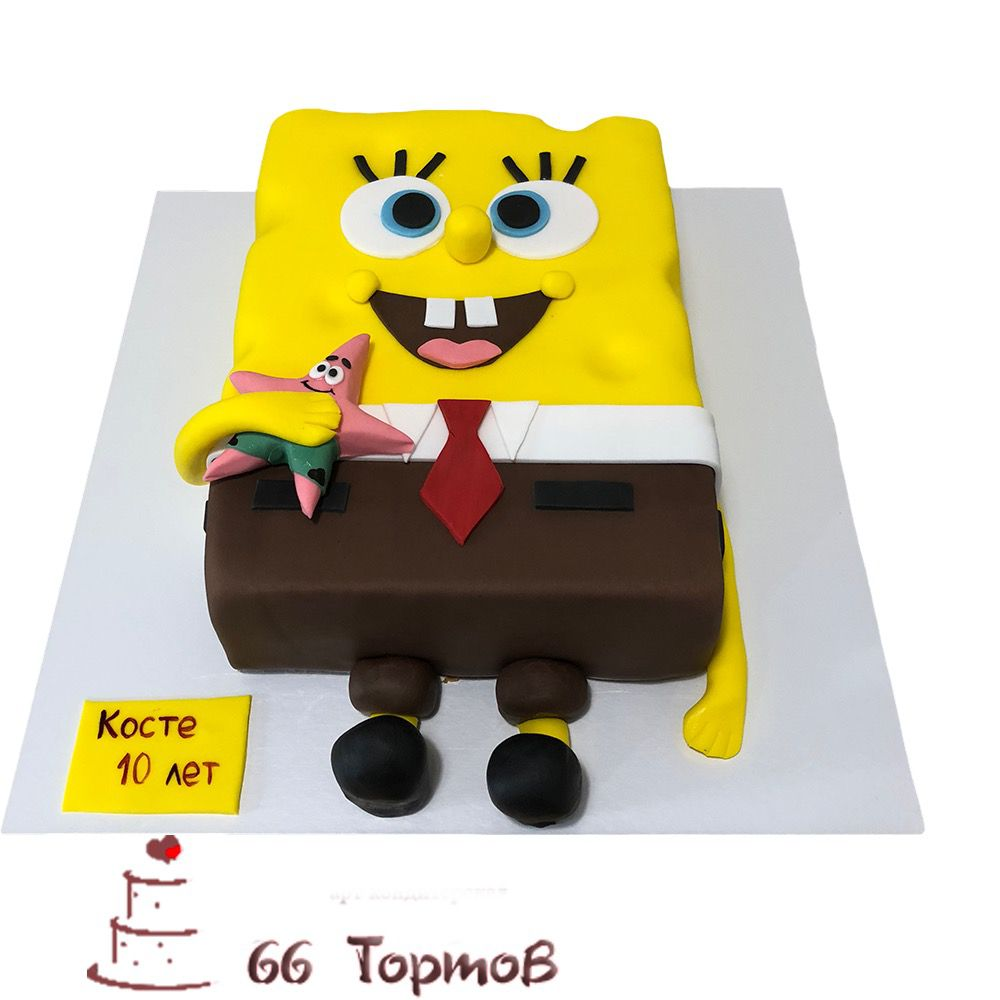 №190 Торт спанч боб