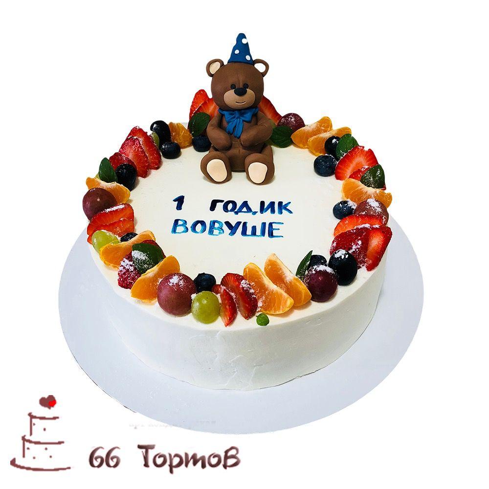 №196 Торт мишка