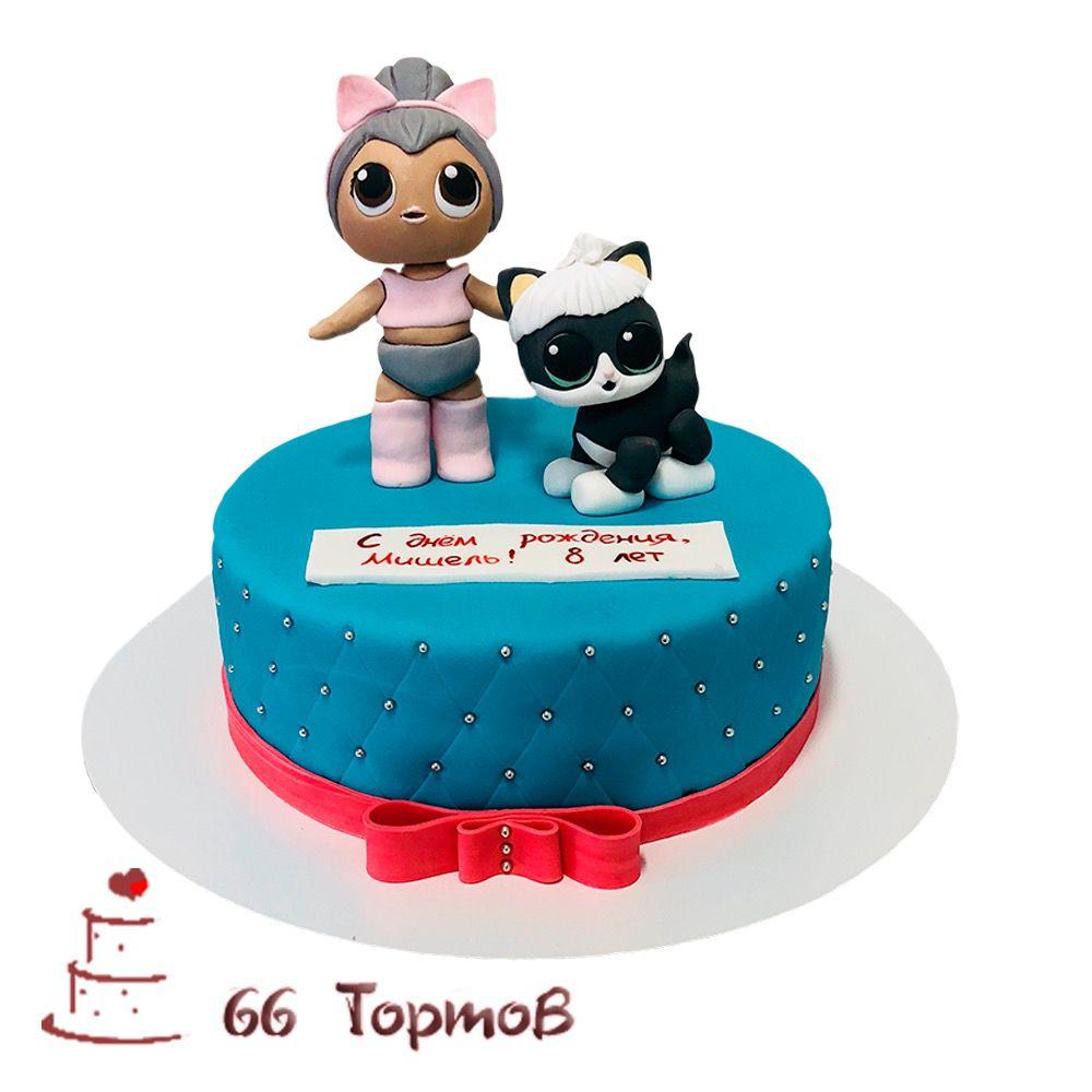 №199 Торт кукла лол