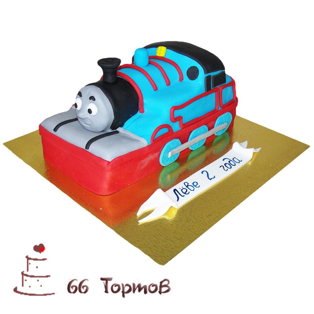 №210 Торт паровозик томас