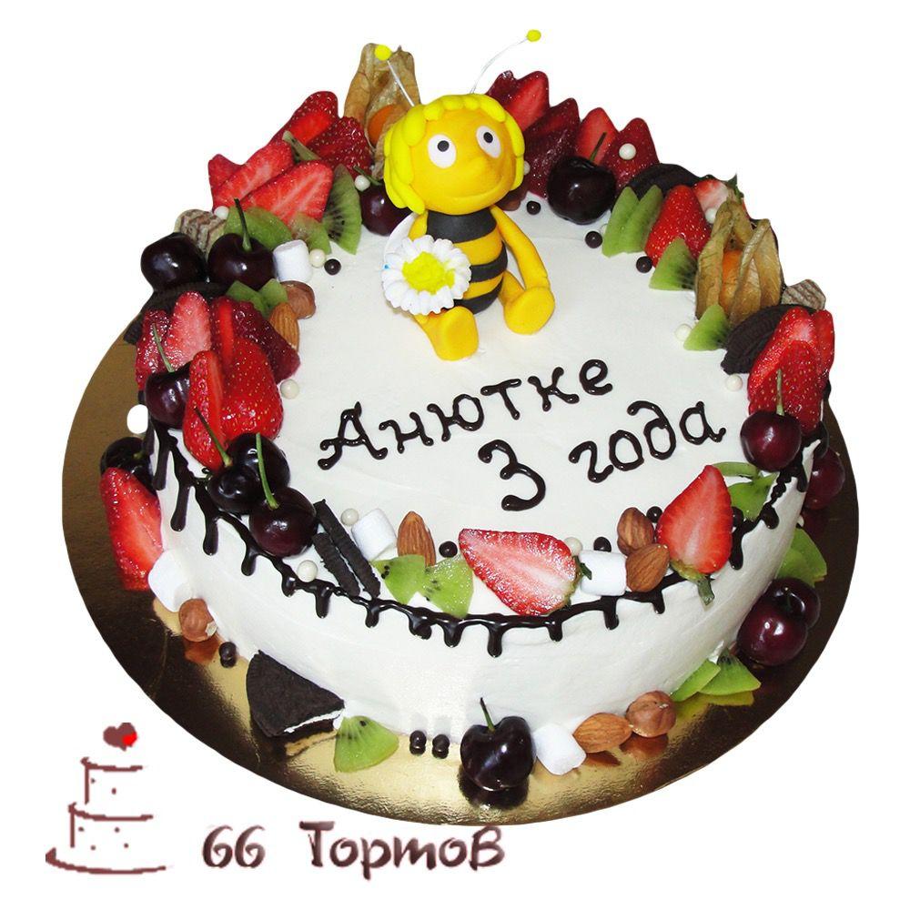 №225 Торт пчелка майя