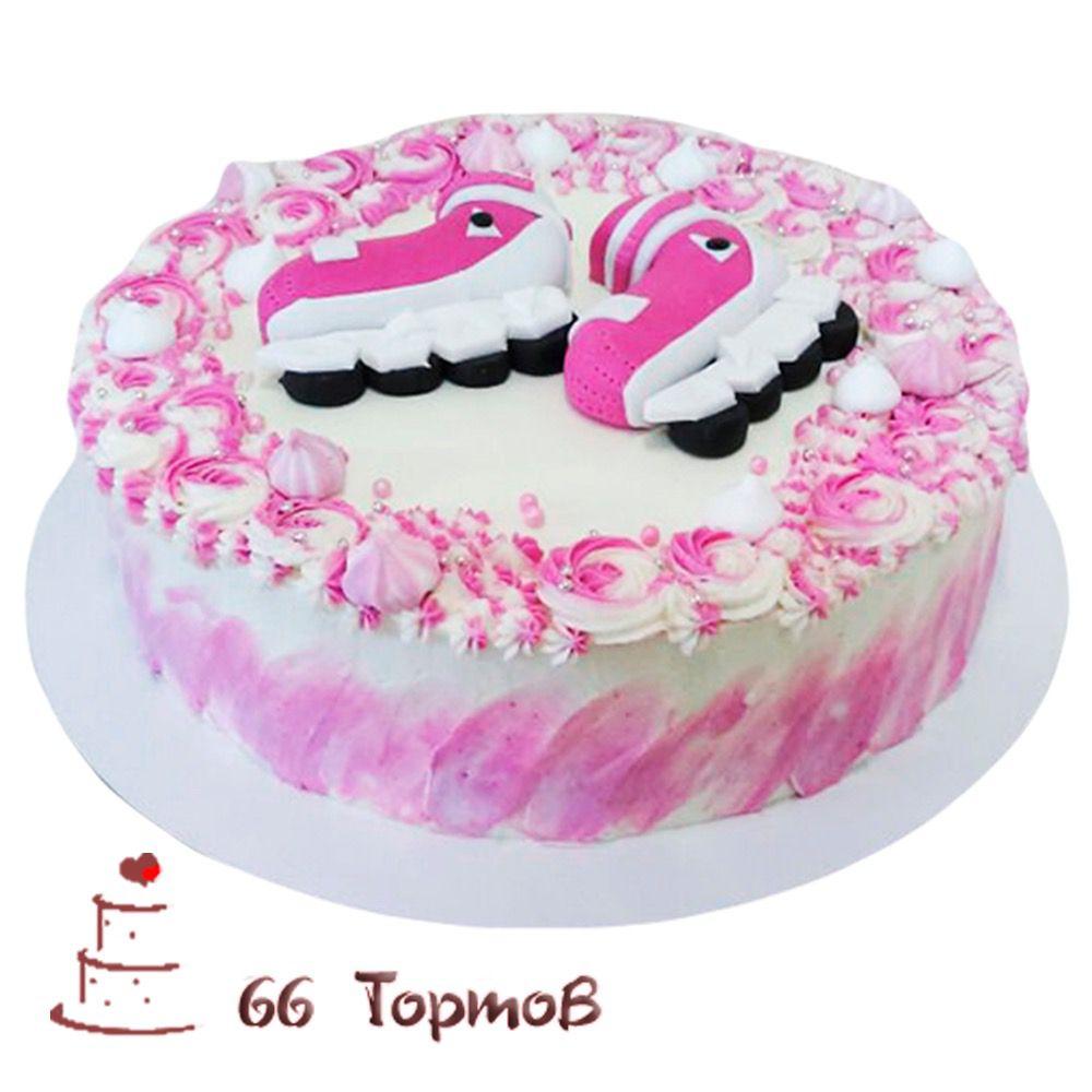 №234 Торт ролики