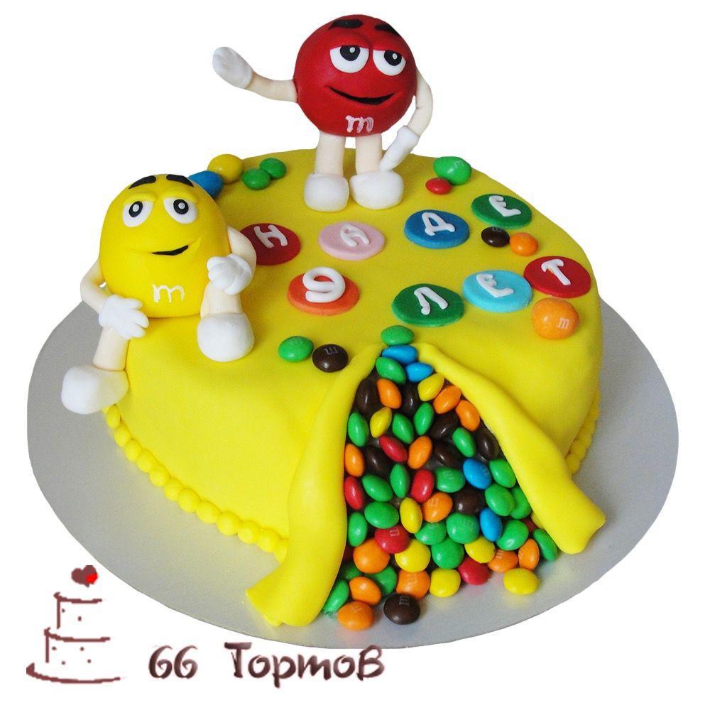 №238 Торт M&Ms
