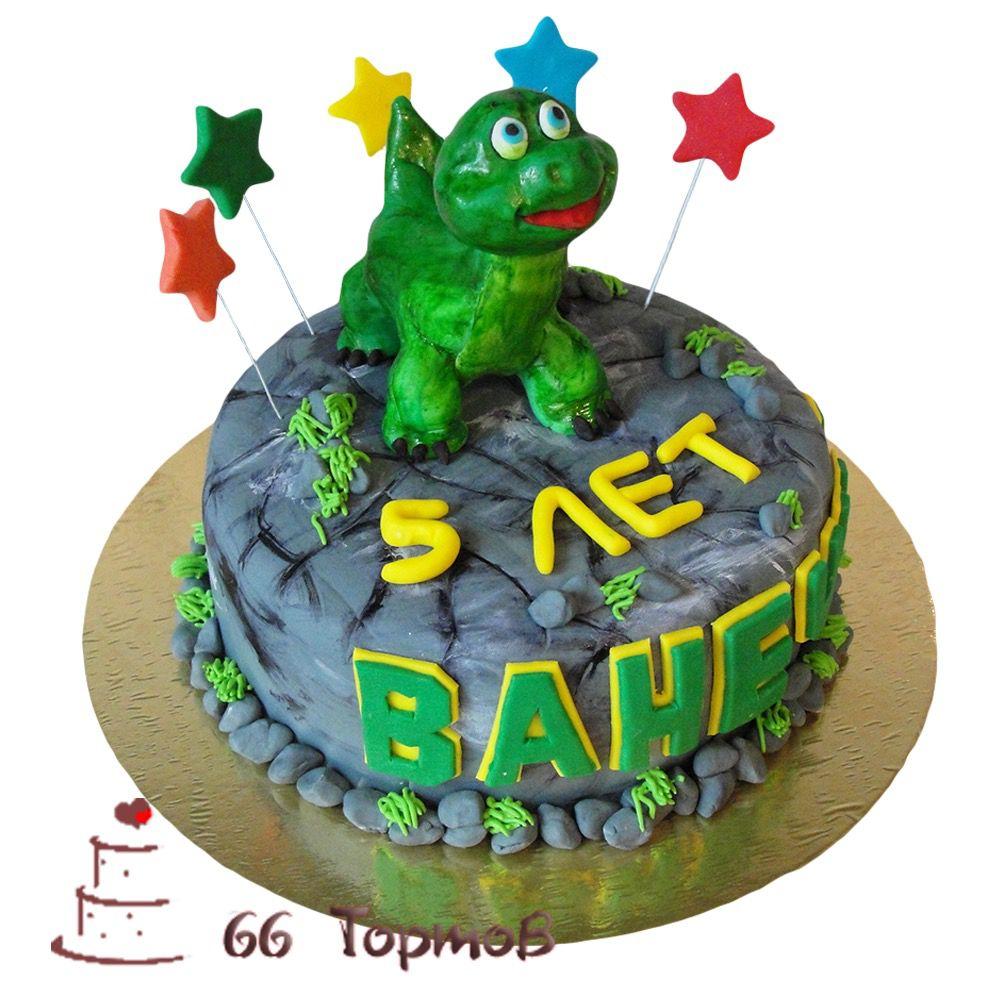 №240 Торт динозавр