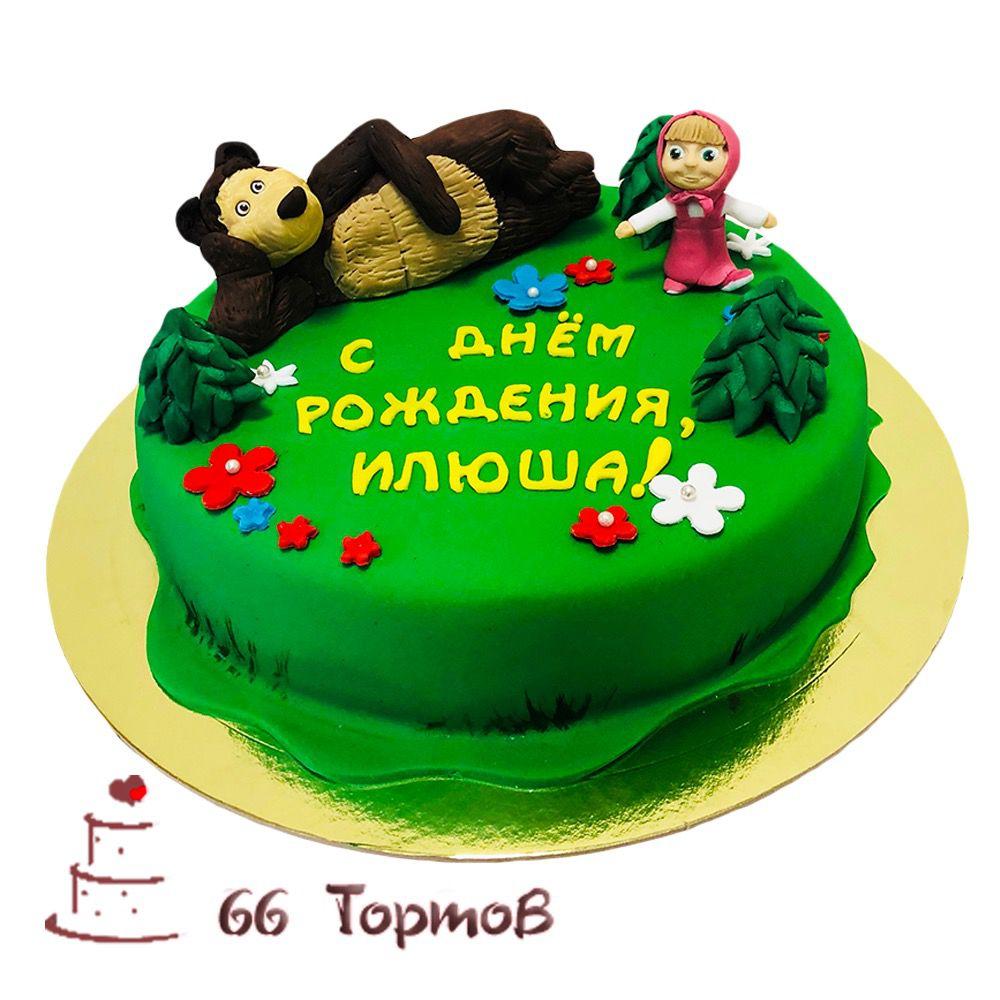 №265 Торт маша и медведь