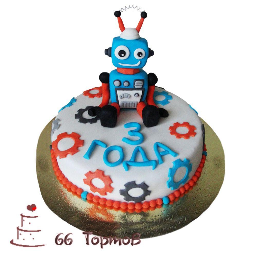 №267 Торт с роботом