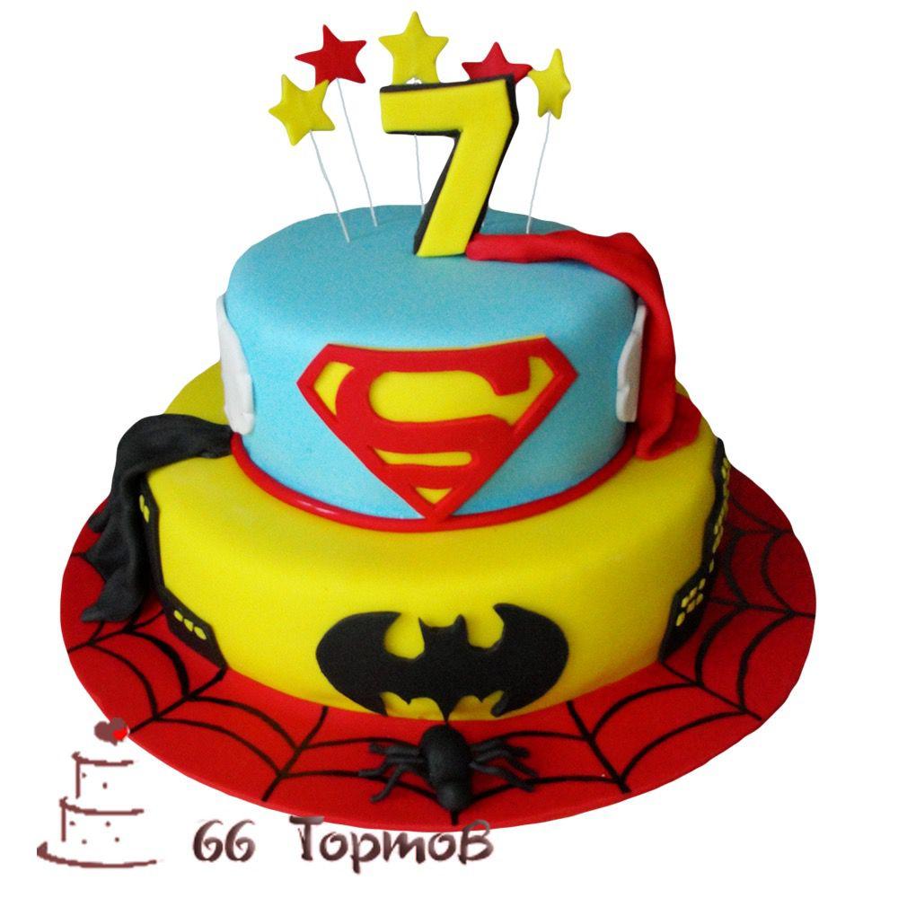 №280 Торт супергерои