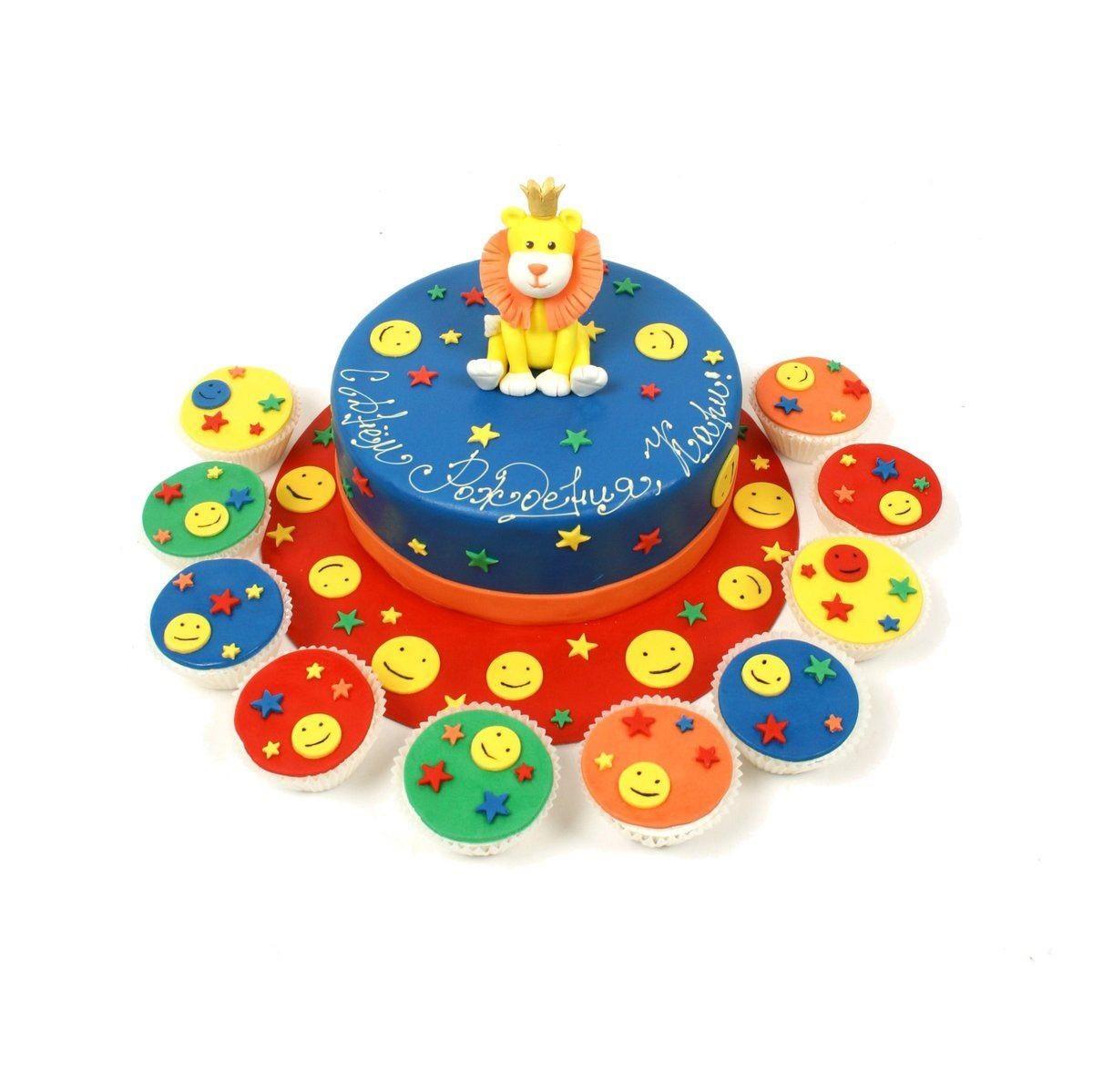 №292 Торт со львом