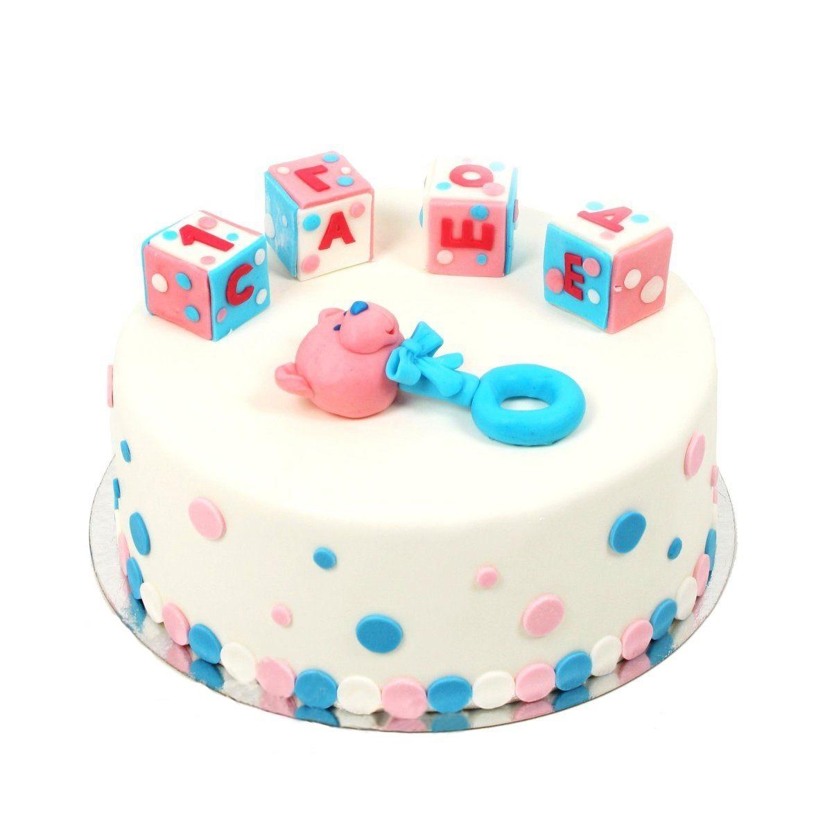 №297 Торт с кубиками