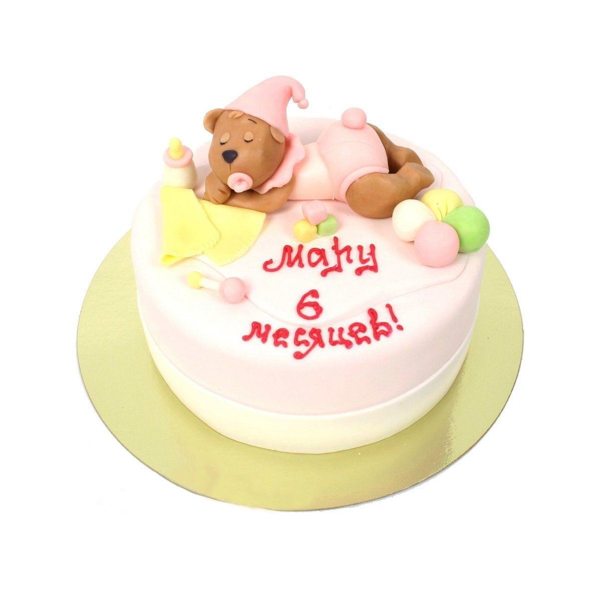 №304 Торт с мишкой