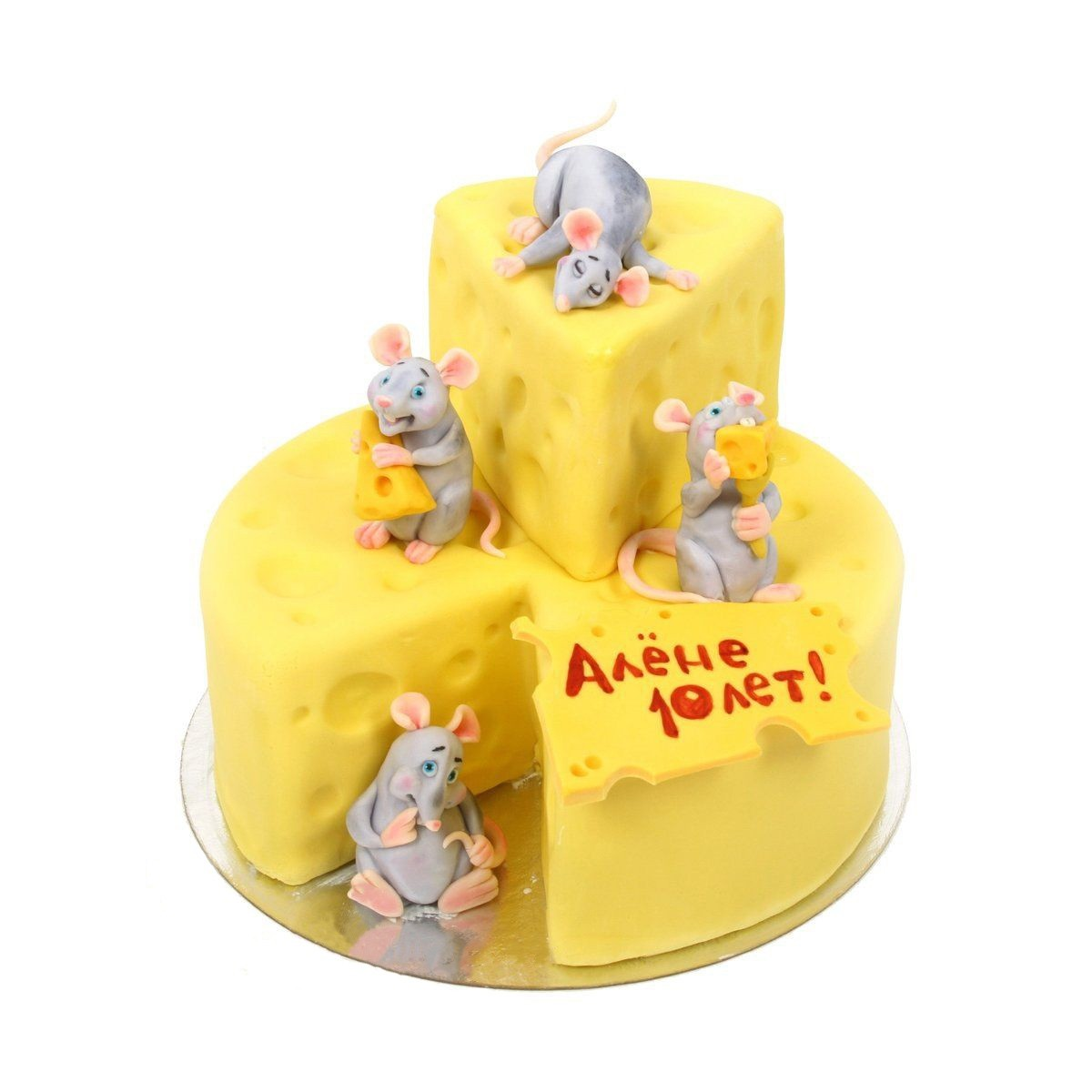№308 Торт кусочек сыра