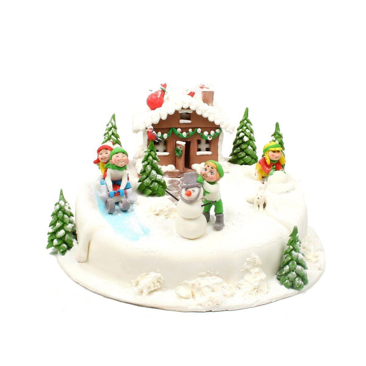 №310 Торт на новый год