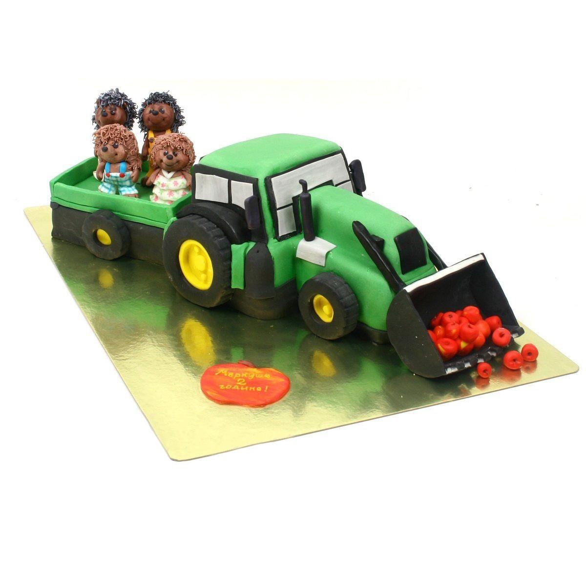 №311 Торт трактор