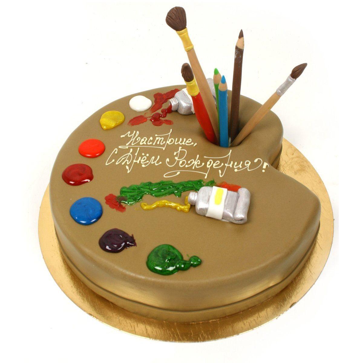 №372 Торт для художника