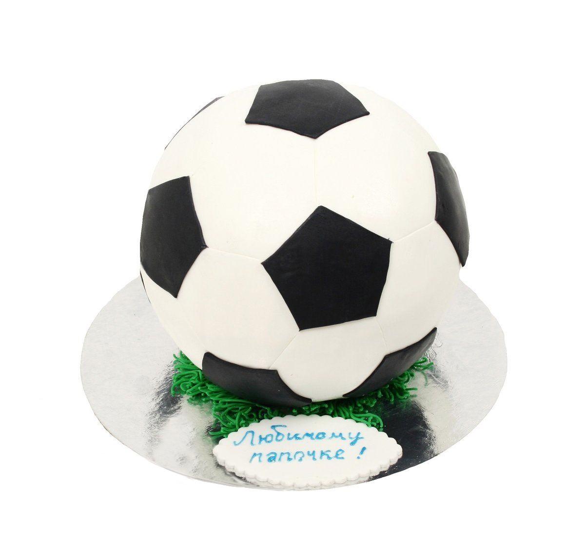 №382 Торт футбольный мяч