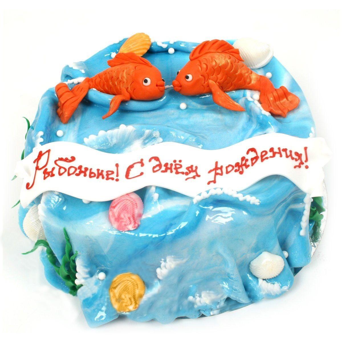 №505 Торт рыбки