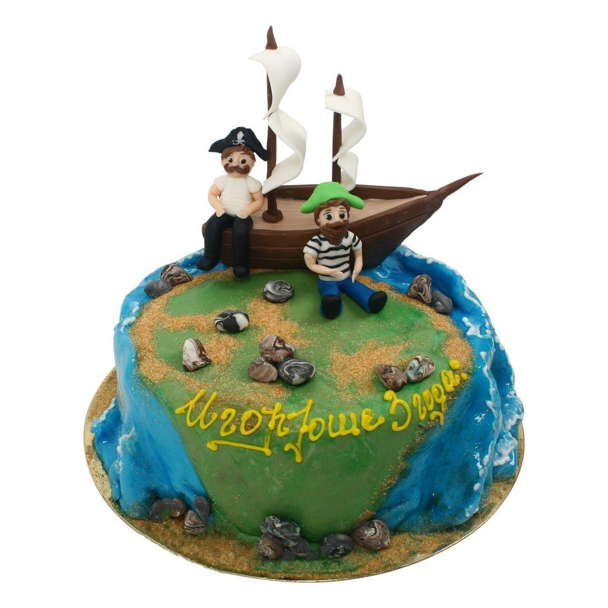 №514 Торт пираты