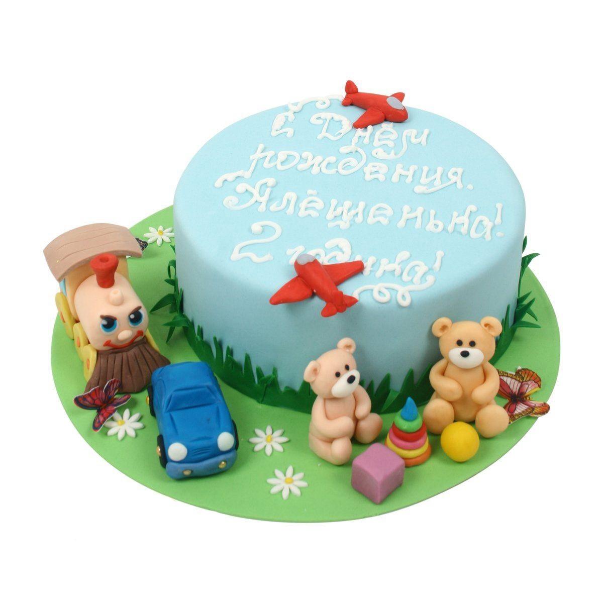 №515 Торт с игрушками
