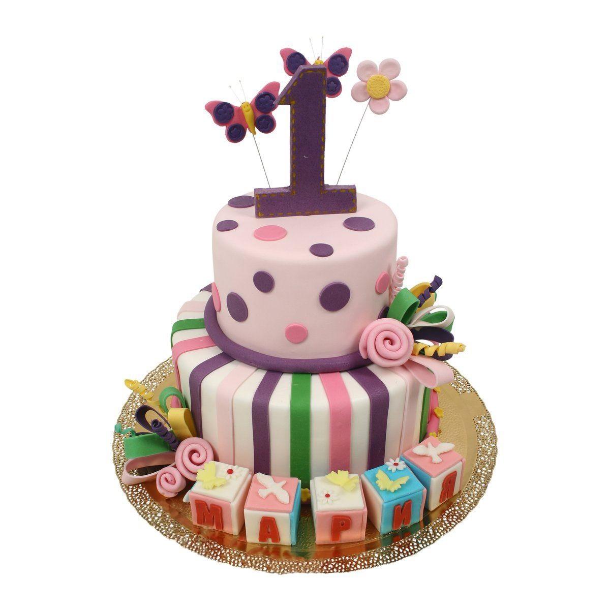 №519 Торт на годик