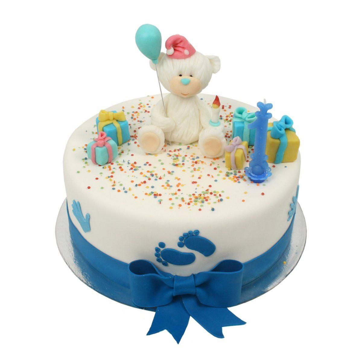 №522 Торт с мишкой
