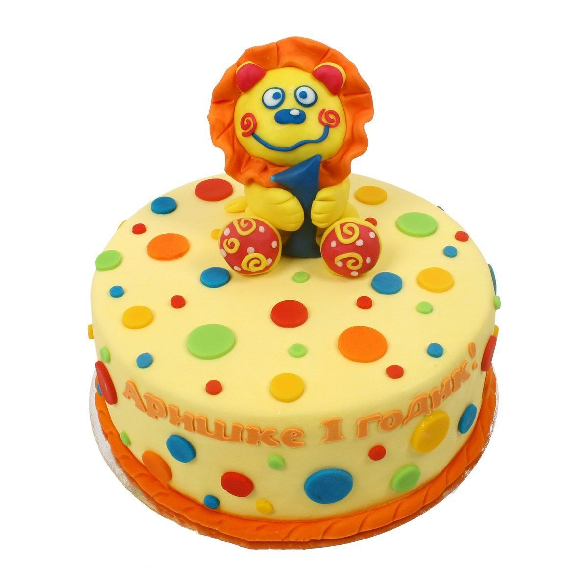 №523 Торт цирк