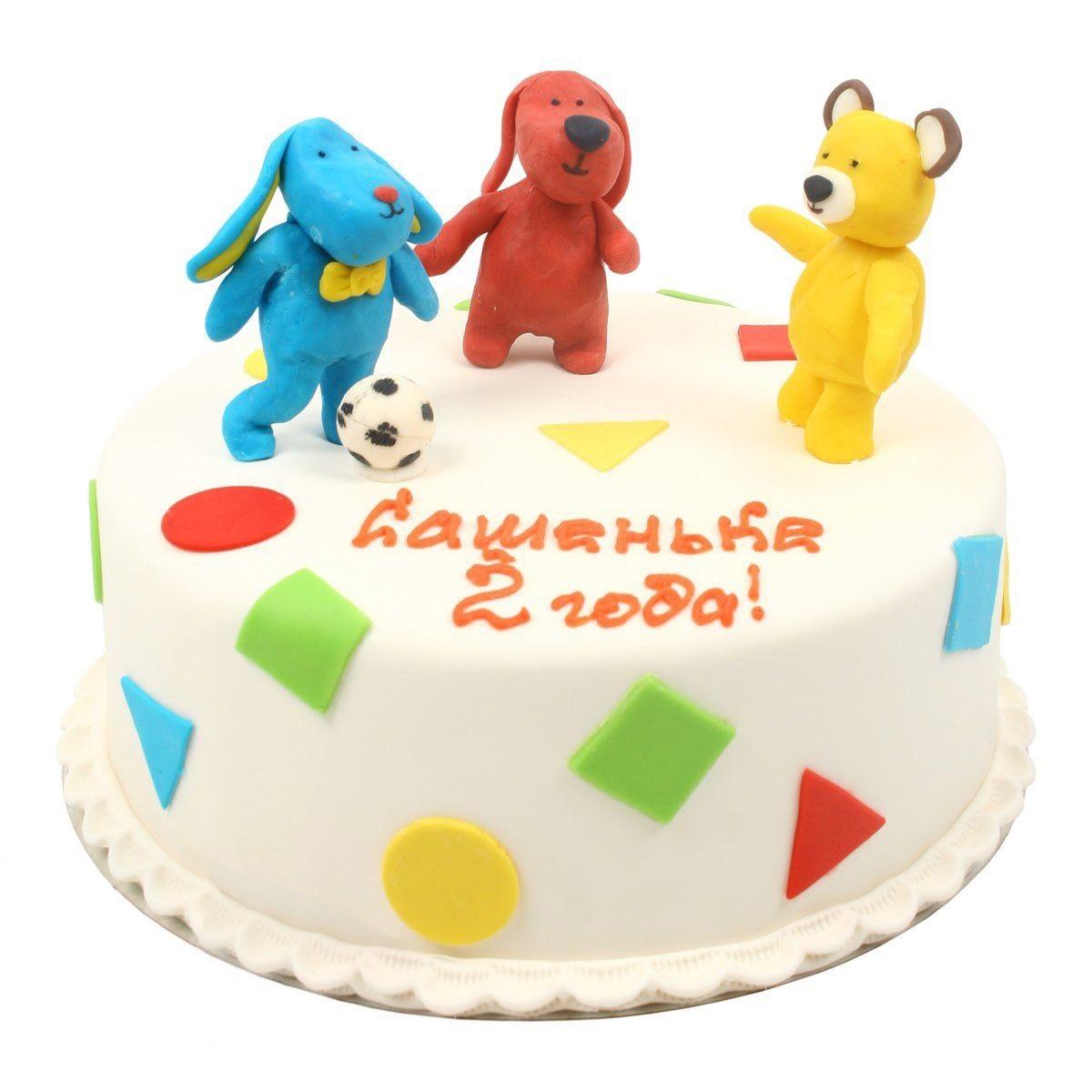 №529 Торт с игрушками