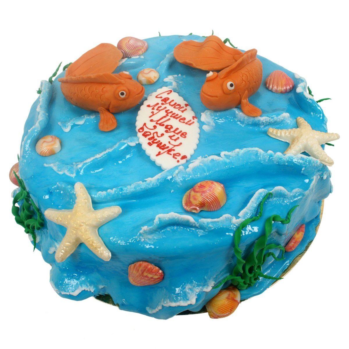 №531 Торт подводный мир