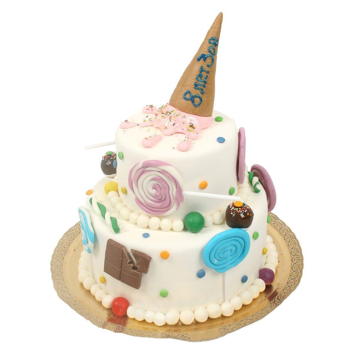 №533 Торт со сладостими