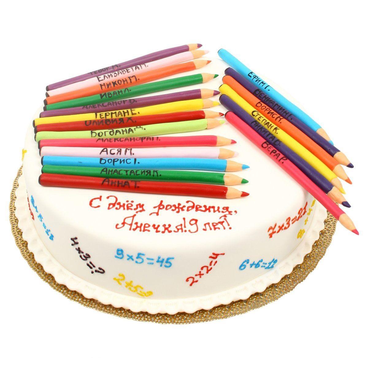 №538 Торт карандаши