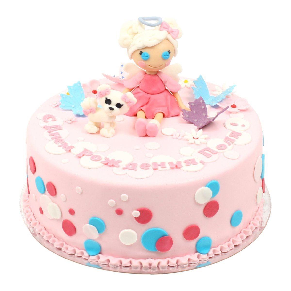 №544 Торт с куклой