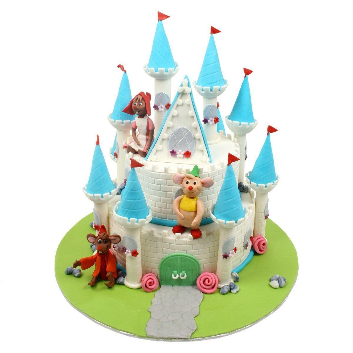 №546 Торт замок