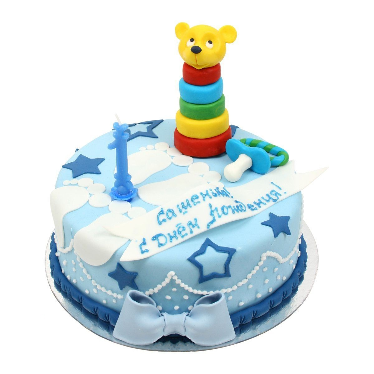 №547 Торт на годик