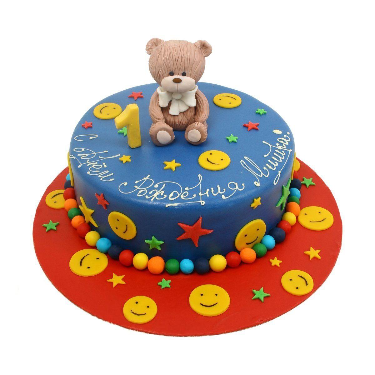 №549 Торт с мишкой