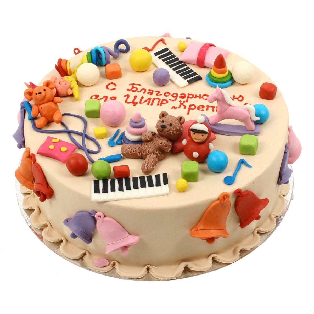№561 Торт игрушки