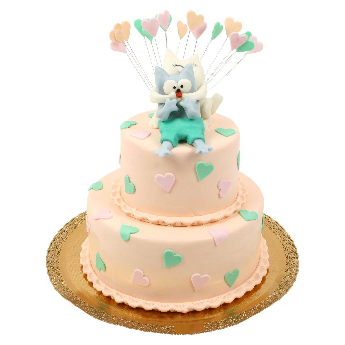 №562 Торт с котами