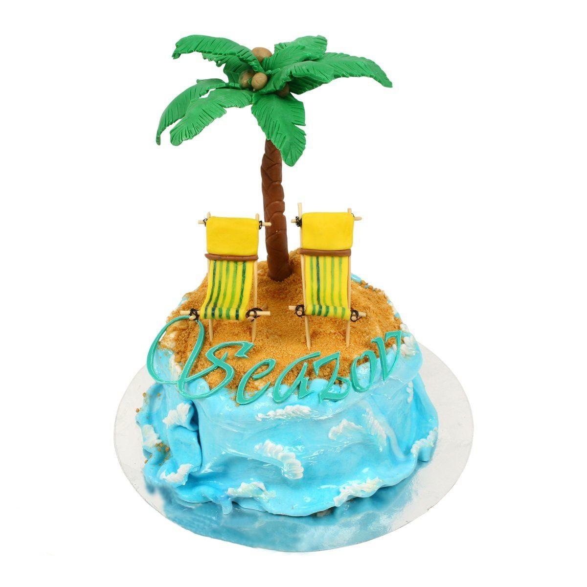 №571 Торт остров