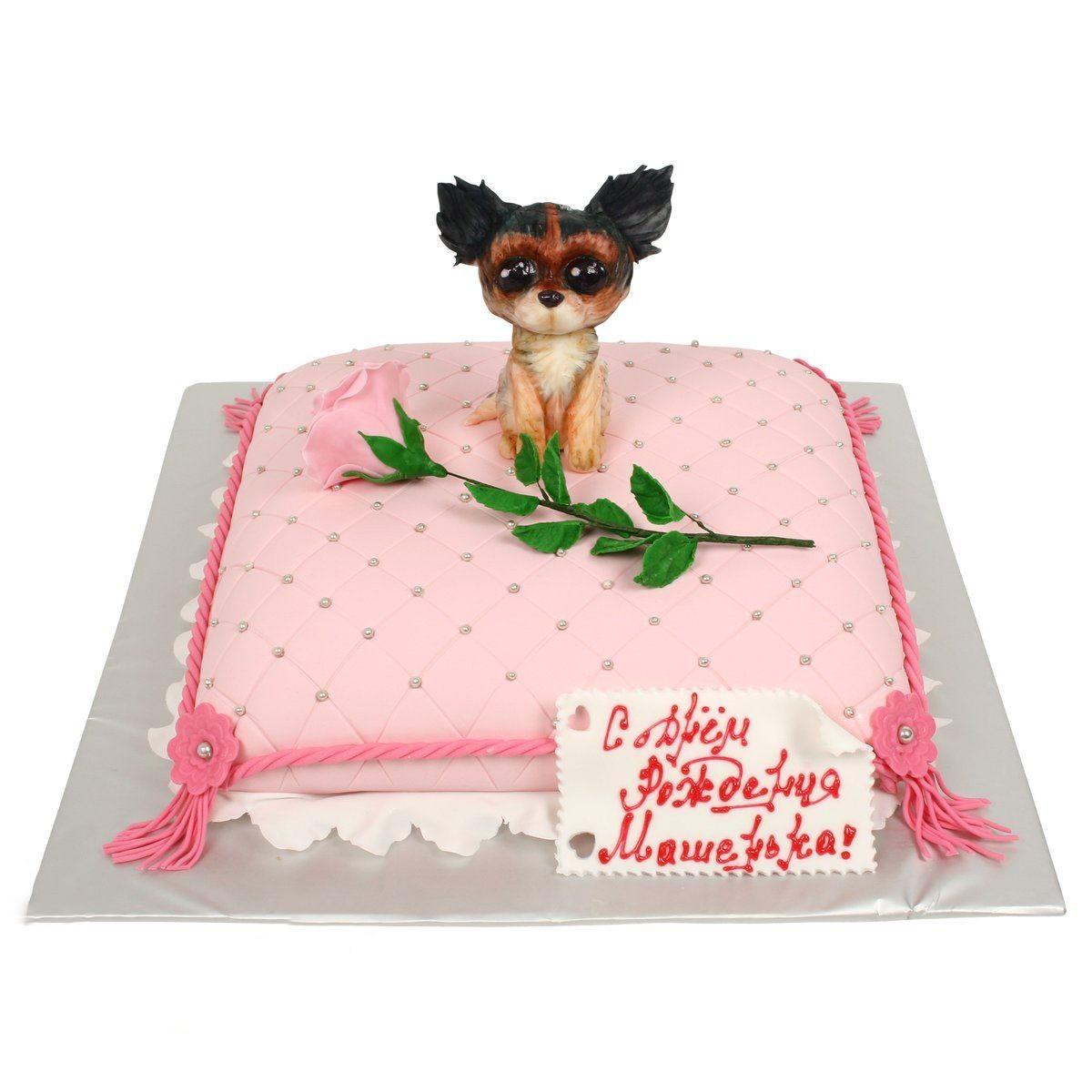 №578 Торт с собачкой