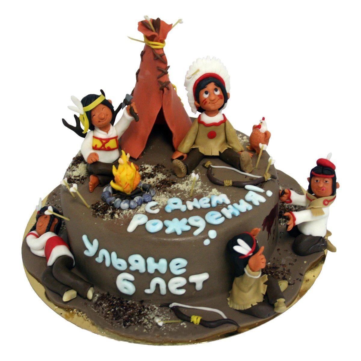 №584 Торт индейцы