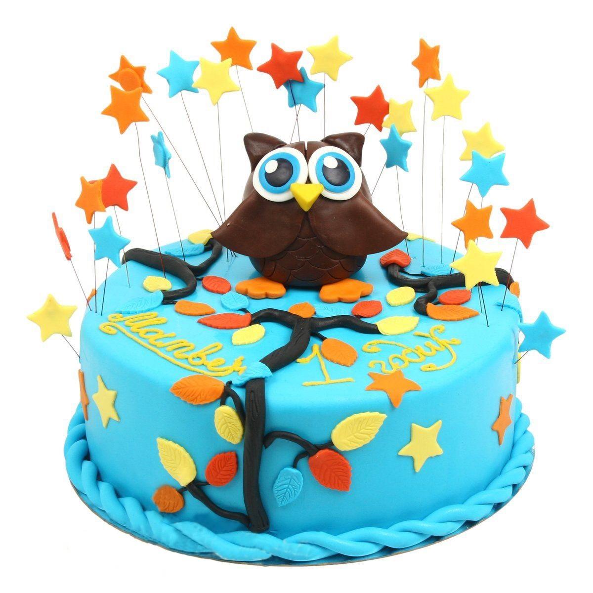 №585 Торт с совой