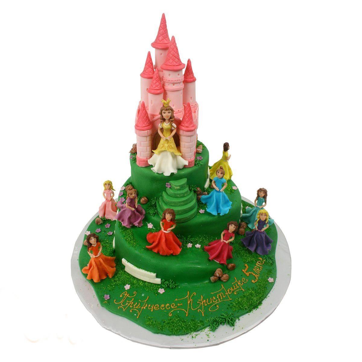 №587 Торт замок
