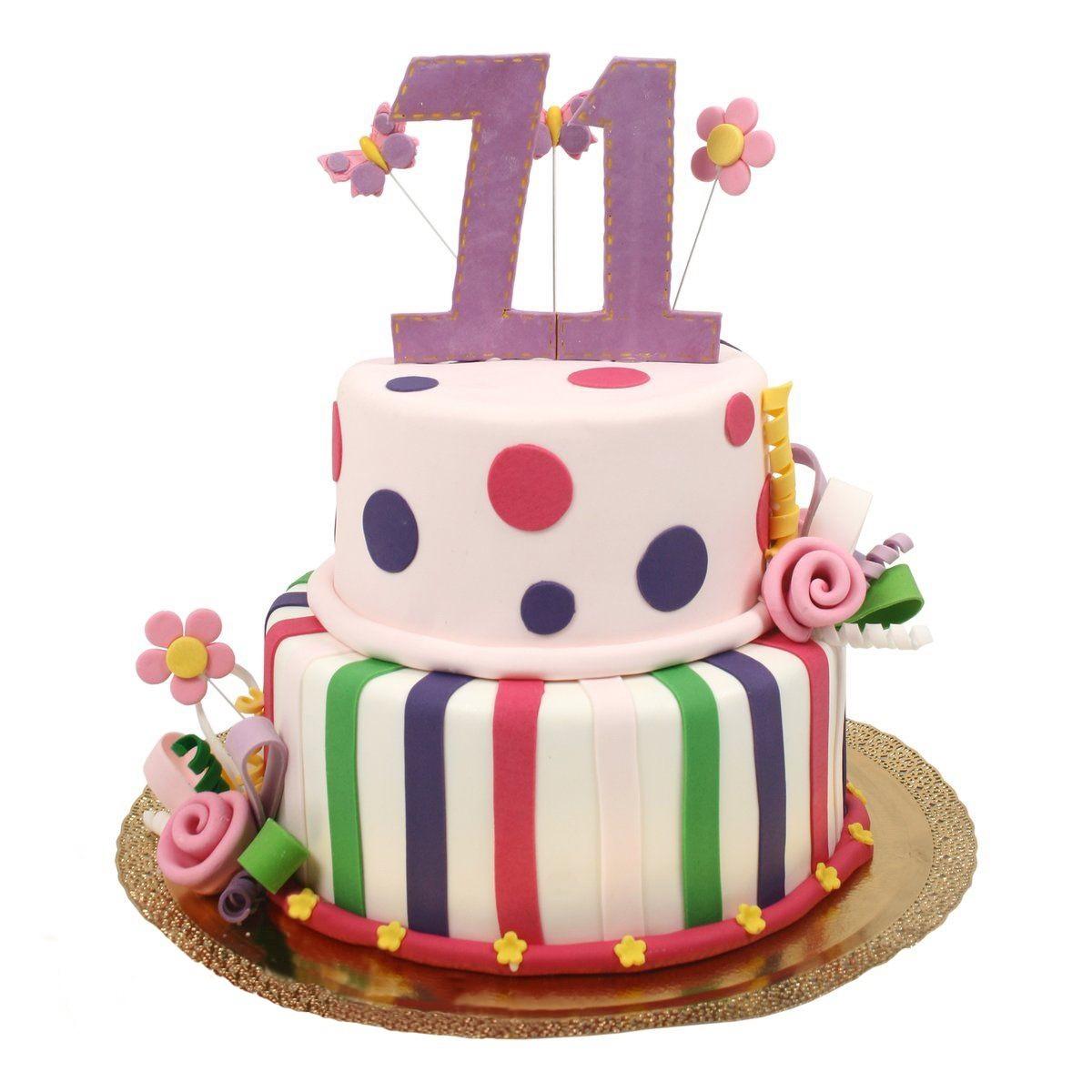 №589 Торт с цифрой