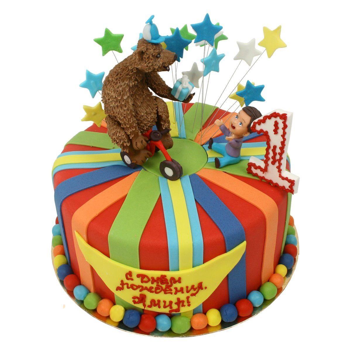 №590 Торт цирк