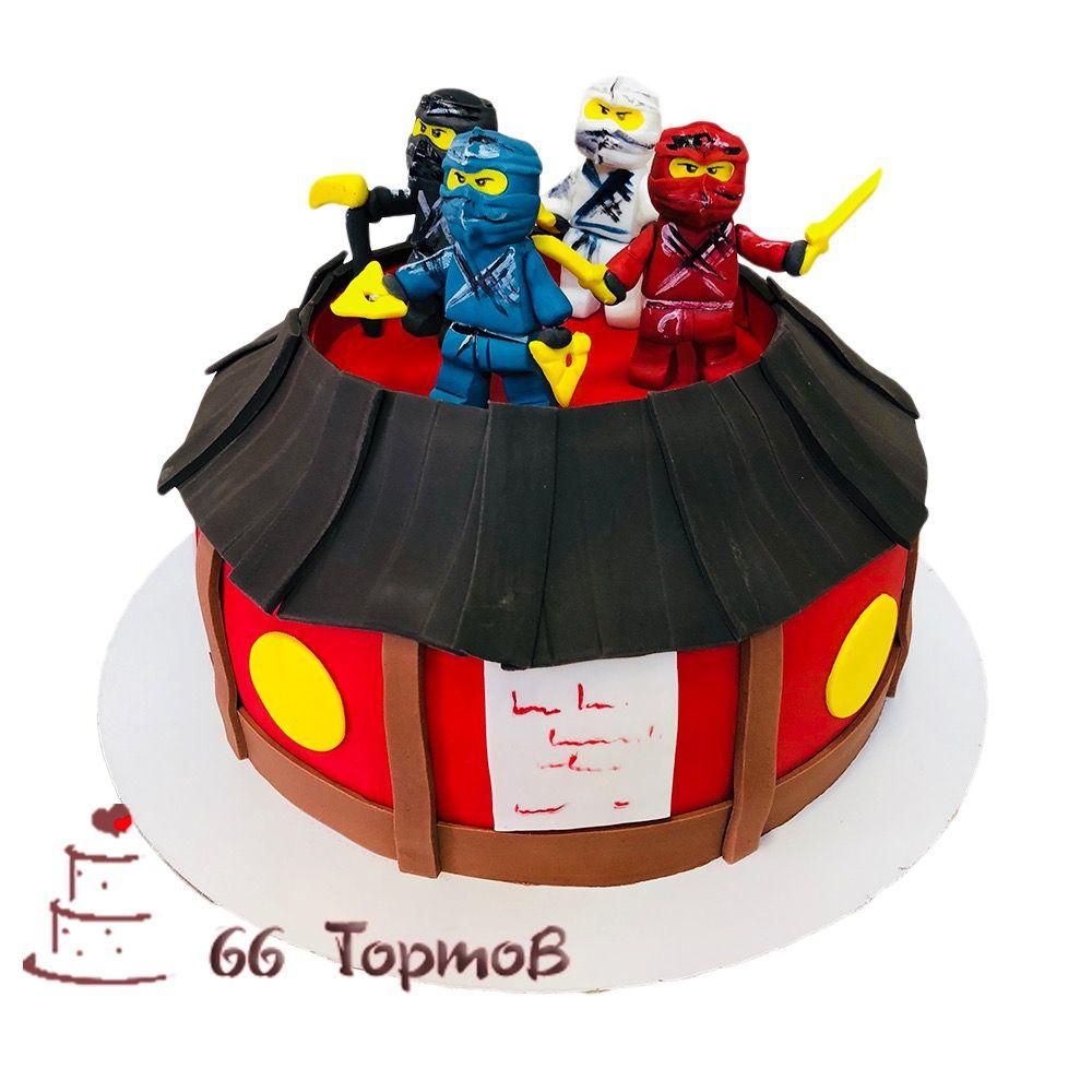 №65 Торт лего ниндзяго