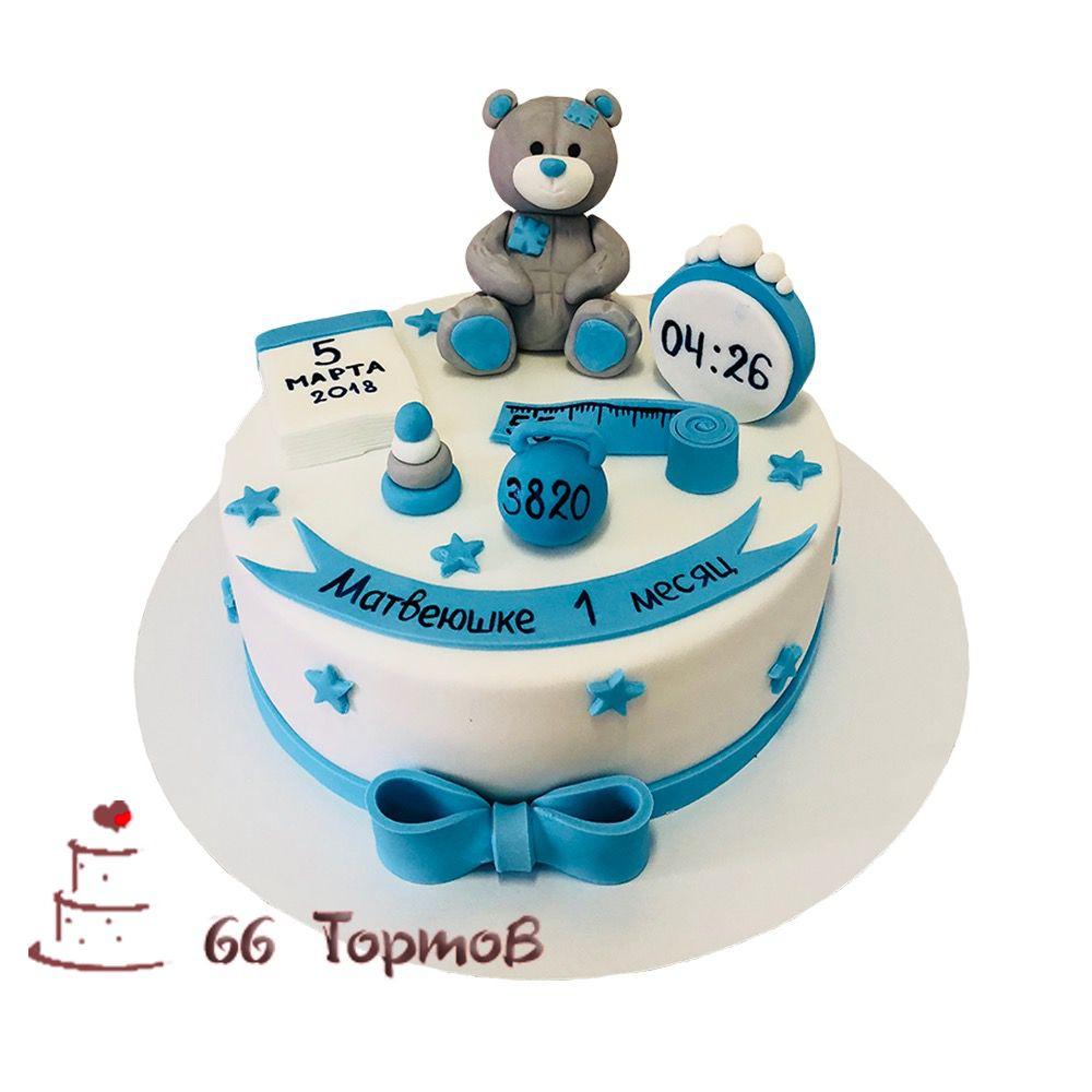 №67 Торт с мишкой Тедди