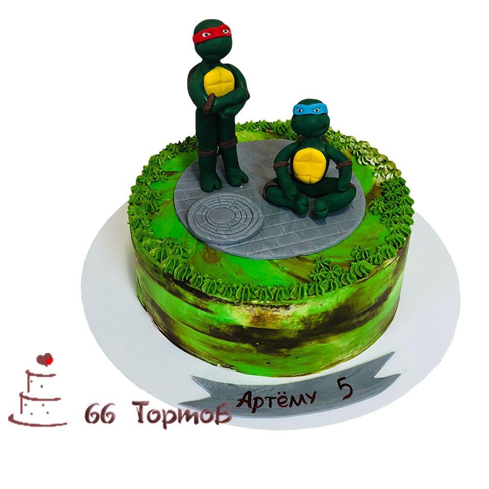 №73 Торт черепашки ниндзя