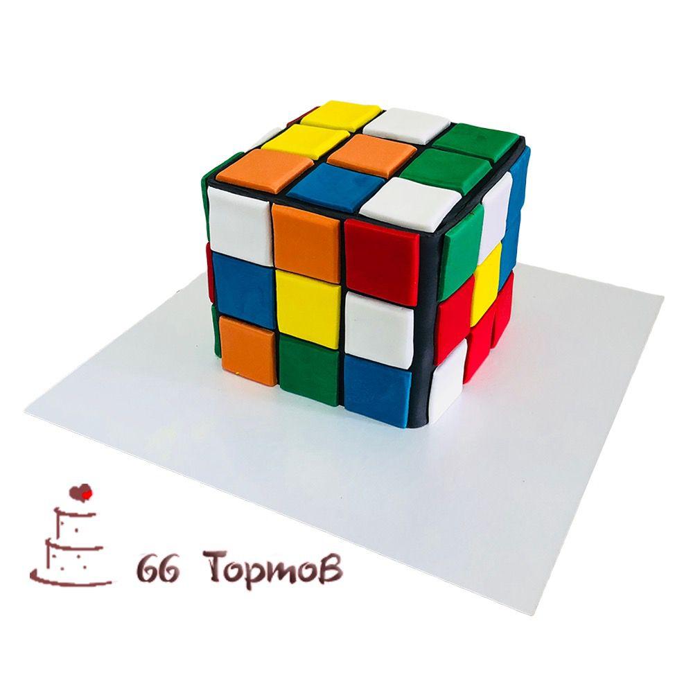№83 Торт кубик рубик