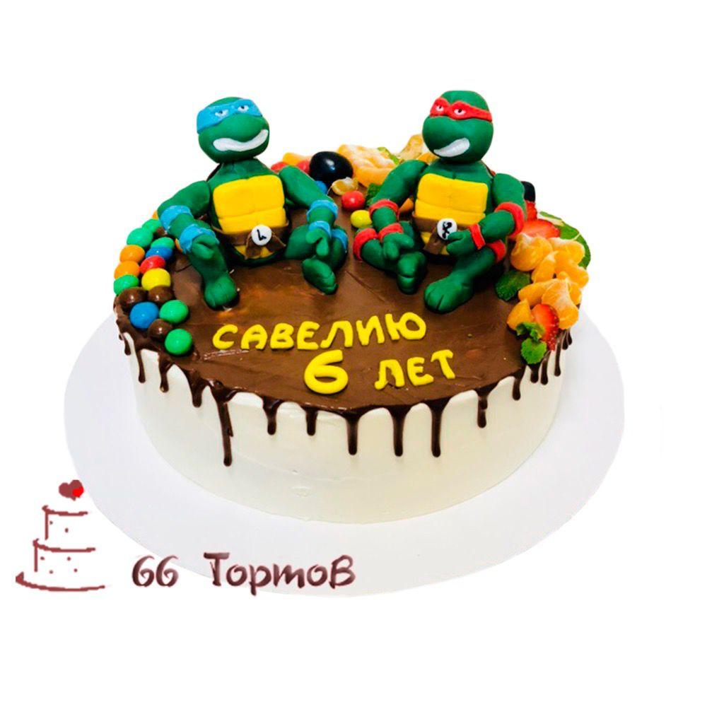 №86 Торт черепашки ниндзя