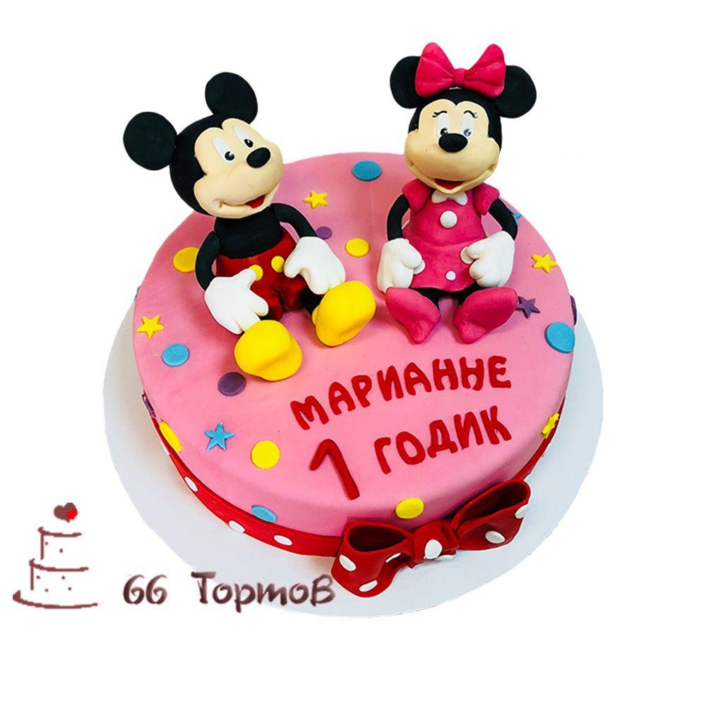 №89 Торт с Микки и Минни